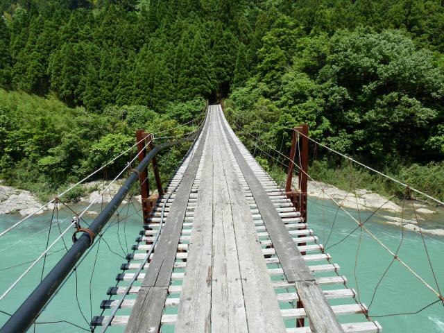 小家坂の吊橋2