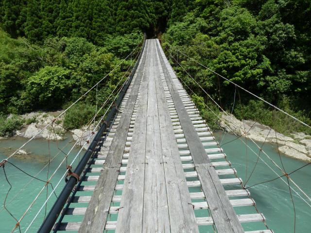 小家坂の吊橋4