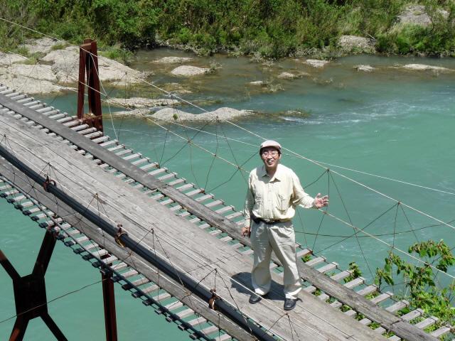 小家坂の吊橋7
