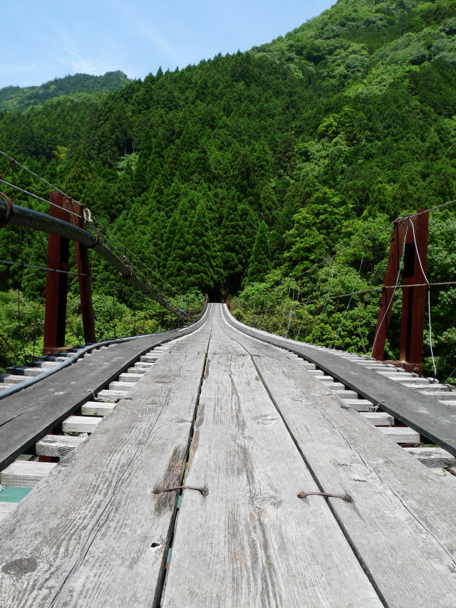 小家坂の吊橋8