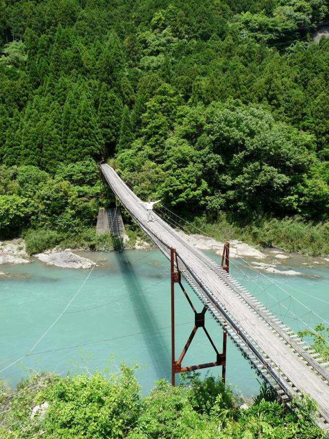 小家坂の吊橋10