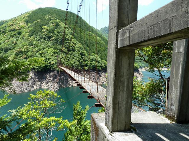 宮ノ平の吊橋1