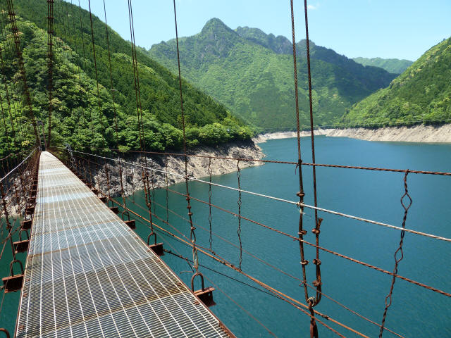 宮ノ平の吊橋3