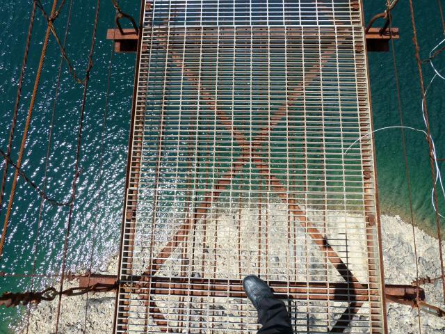 宮ノ平の吊橋4