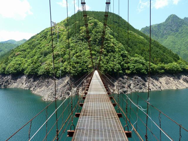 宮ノ平の吊橋5