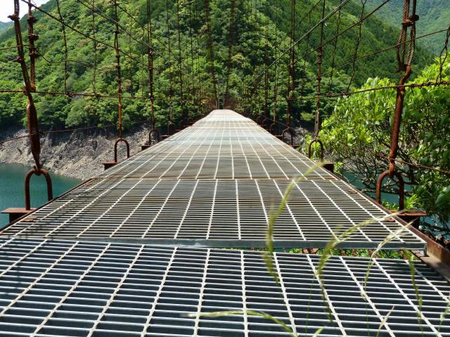 宮ノ平の吊橋6