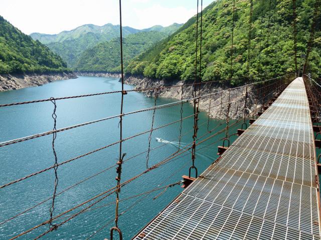 宮ノ平の吊橋8
