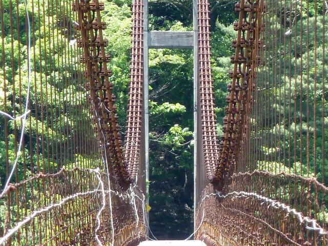 宮ノ平の吊橋9