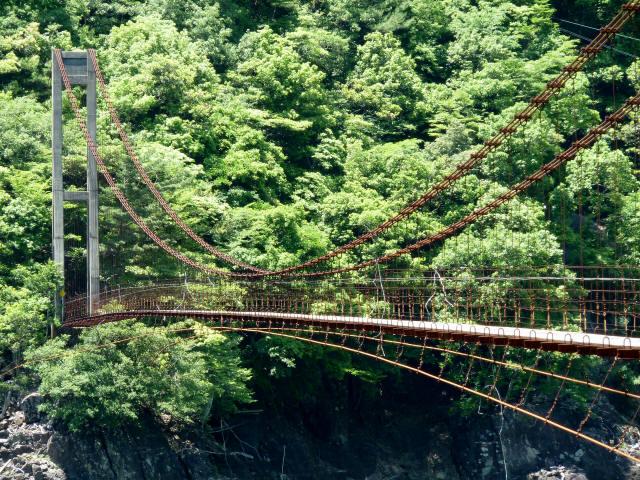 宮ノ平の吊橋10
