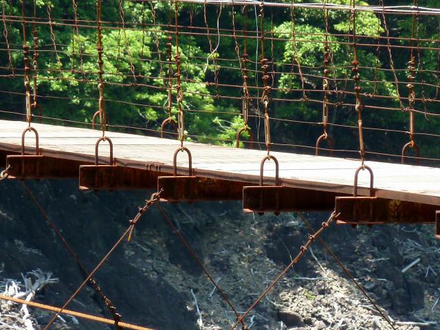 宮ノ平の吊橋11