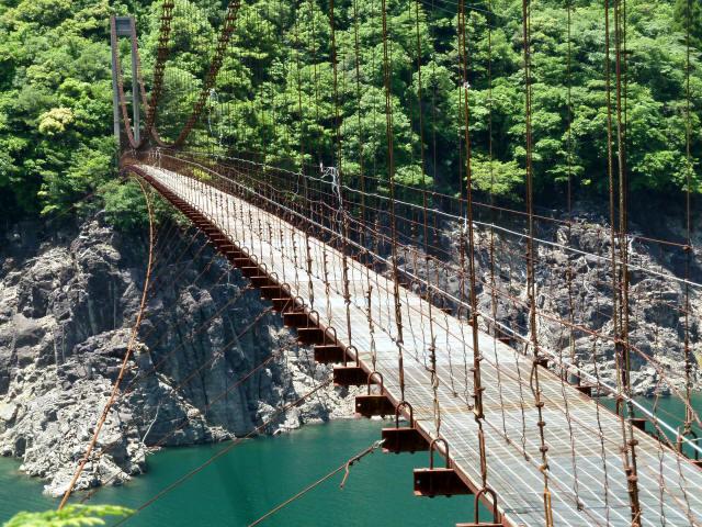 宮ノ平の吊橋12