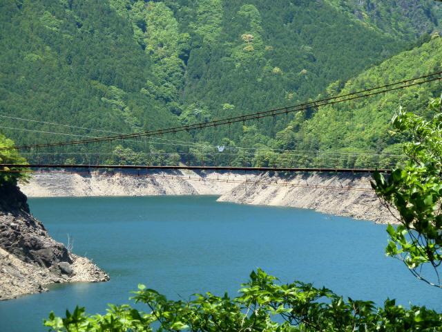 宮ノ平の吊橋13