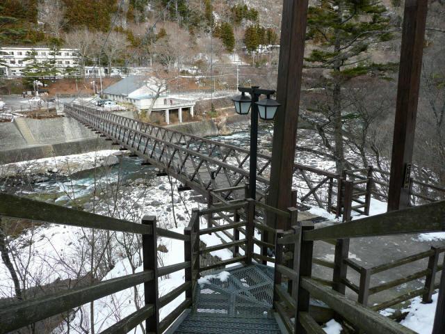 七ツ岩吊橋3