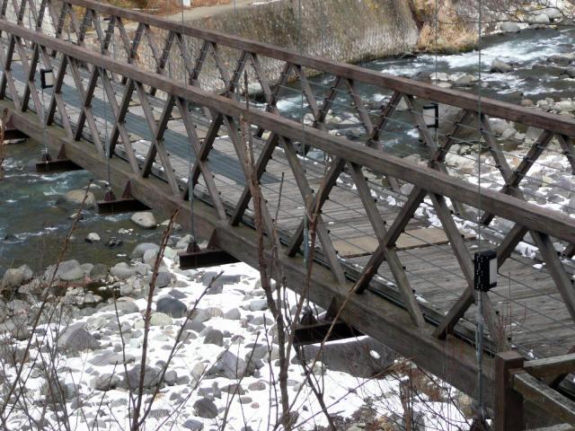 七ツ岩吊橋4