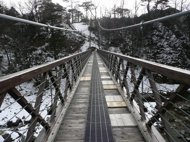 七ツ岩吊橋7