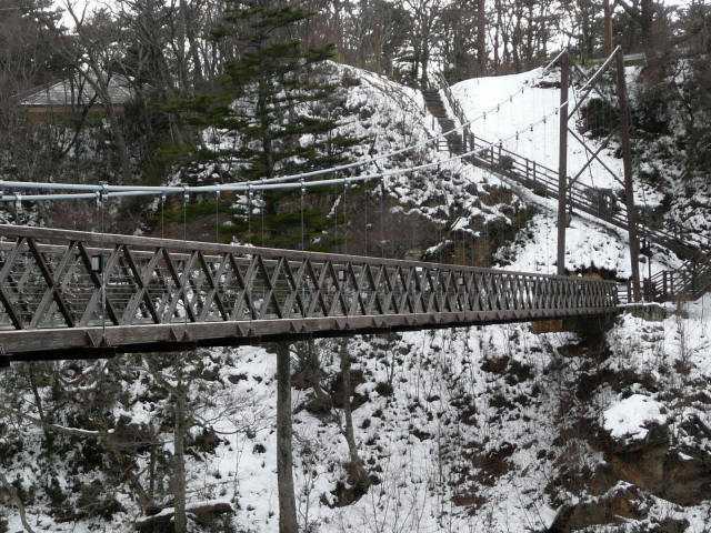 七ツ岩吊橋8