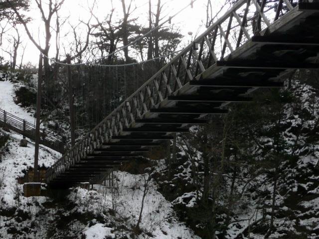 七ツ岩吊橋9