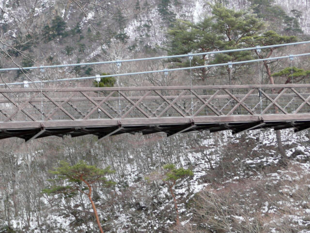 七ツ岩吊橋10