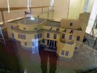 「東京放送局」の模型