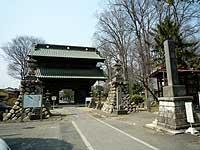 妻沼山参道入り口
