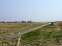 グライダー滑空場の北端