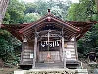 梅園神社拝殿