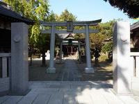 三囲神社 二の鳥居