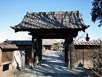 玉蔵寺山門