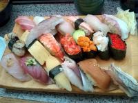 半年前ののっけ寿司