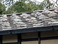 板葺石置屋根
