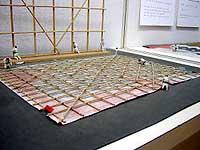 大凧製作の縮尺模型