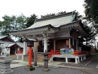 白岡八幡宮社殿