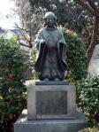 道真5歳の銅像