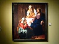 「マリアとマルタの家のキリスト」