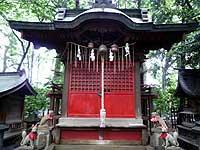 調神社旧本殿