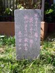 「木の実ナナ」の植樹記念碑