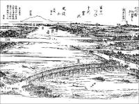 江戸名所図会 大川橋