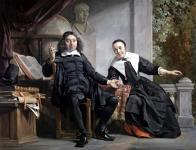 《アブラハム・カストレインとその妻マルハレータ・ファン・バンケン》