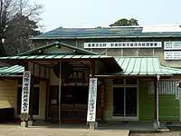 修理中の社殿