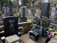 大川橋蔵墓