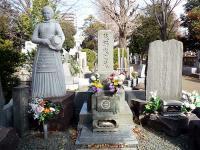 荻野吟子墓