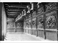 文昭院殿 霊廟 左右廊内部