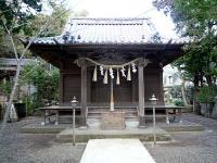 加知山神社拝殿