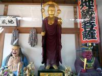 地蔵堂の地蔵・閻魔・奪衣婆の三像