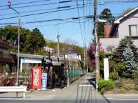 赤山城址入口