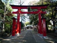 峯ヶ岡八幡神社二の鳥居