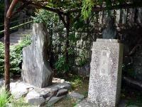 高濱虚子の胸像と句碑