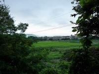 伊達城跡からの眺望
