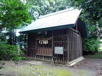 中山神社旧社殿 覆屋