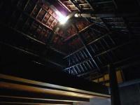 「ハチジョウ」の屋根裏